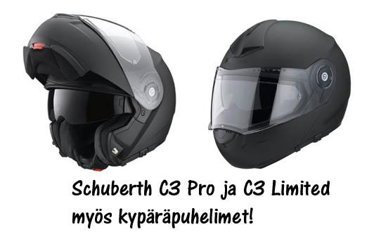 Schuberth C3 kypärämallit