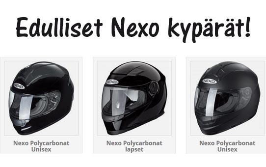 Nexon mp kypärät